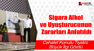 Sigara Alkol ve Uyuşturucunun Zararları Anlatıldı