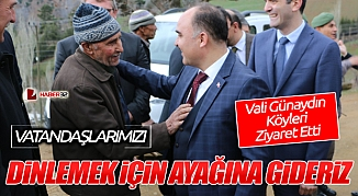 Vatandaşımızı dinlemek için ayağına gideriz